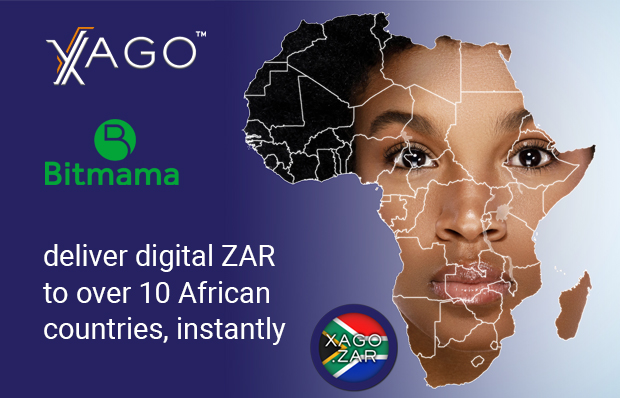 Bitmama, Xago partner to send and receive digital ZAR to over 10 African countries, instantly